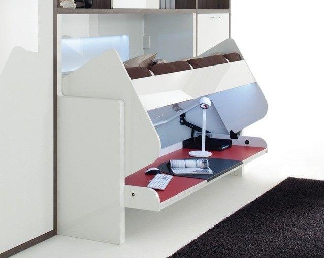 Bed of bureau