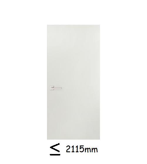 Deurhoogte 2115mm