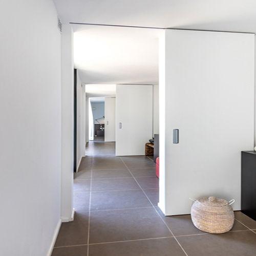 Schuifdeur tot aan verlaagd plafond