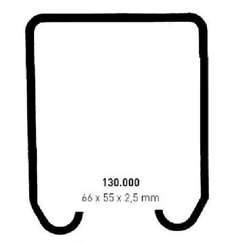 ROB 130.000 serie - max. 55 Kg per deurpaneel