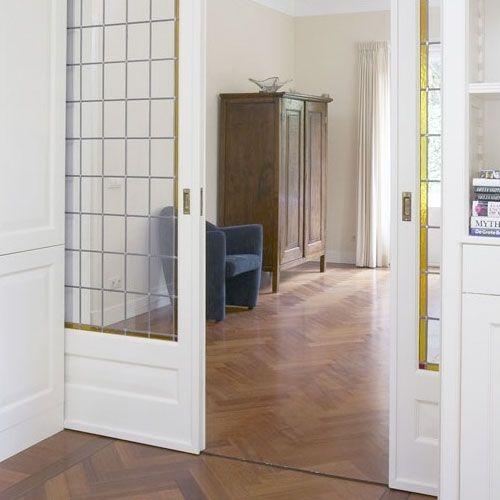 Onderlopende schuifdeur en suite