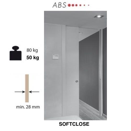Softclose plafondhoog PRO 50 & 80 Kg