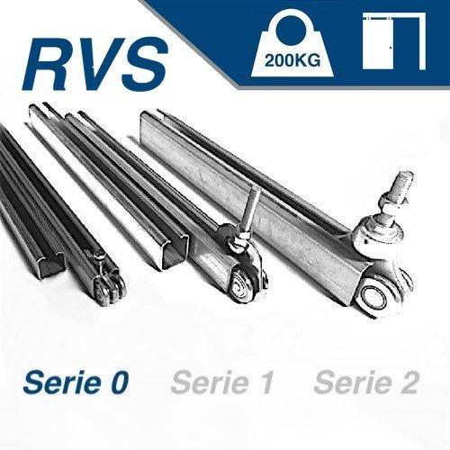 Hangend - serie 0 - 200Kg - RVS316