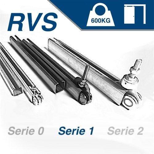 Hangend - serie 1 - 600Kg - RVS316