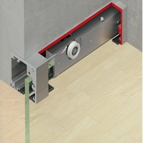 Glas schuifdeursysteem plafondhoog