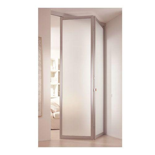 Vouwdeur systeem en voor binnendeuren of buitendeuren for Klinken voor binnendeuren