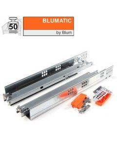 Blum Tandem Plus 566H Blumatic Selfclose - 450 t/m 750 mm - volledig uittrekbaar - max 50 kg - productafbeelding - 566H-C01