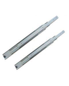 Ladegeleider | Inbouwlengte 400 t/m 1.500 mm | volledig uittrekbaar | Max 100 Kg | Staal verzinkt
