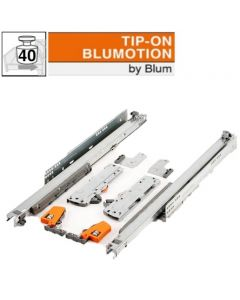 Blum Movento 760HM - Blumotion Tip-on - 270 t/m 480 mm - volledig uittrekbaar - max 40 kg - productafbeelding - 760HM