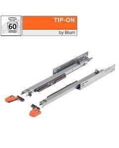 Blum Movento 766H - Tip on - 450 t/m 750 mm - volledig uittrekbaar - max 60 kg - productafbeelding - 766H+Tipon