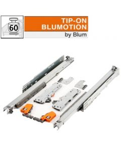 Blum Movento 766 HM - Blumotion Tip-on - 500 t/m 750 mm - volledig uittrekbaar - max 60 kg - productafbeelding - 766HM