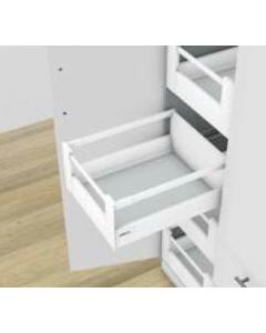 Blum Antaro Blumotion - Binnenlade M/Reling D - hoogte 224mm - 65kg - Zijdewit