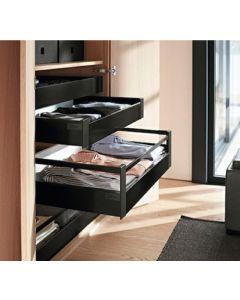 Blum Antaro Blumotion - Binnenlade K/Reling D - hoogte 224mm - 65kg - Terrazwart