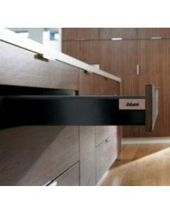 Blum Antaro Blumotion - Lade M - hoogte 83mm - 65kg - Terrazwart