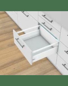Blum Antaro Blumotion - Voorraadlade K/Reling D - hoogte 224mm - 65kg - Zijdewit
