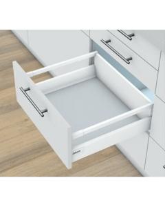 Blum Antaro Blumotion - Voorraadlade M/Reling C - hoogte 192mm - 30kg - Zijdewit