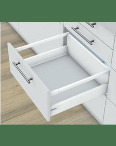 Blum Antaro Blumotion - Voorraadlade M/Reling D - hoogte 224mm - 65kg - Zijdewit