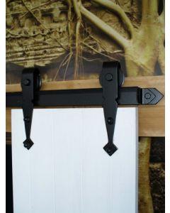 Boeren schuifdeursysteem 150 Kg - enkele schuifdeur Castle - voor deurbreedte max 103 cm