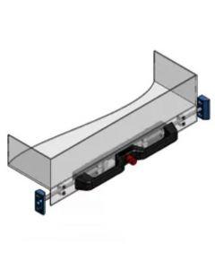 Ladegreep - met systeem voor vergrendeling in gesloten positie - ladebreedte max 1500mm