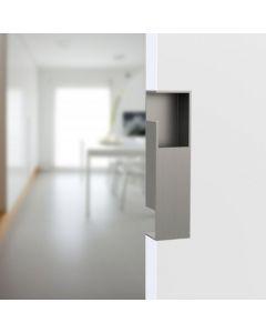 Schuifdeurgreep design rechthoekig voor deur 40mm