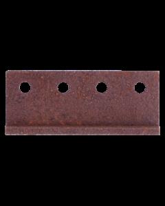 koppelstuk rails - Roest