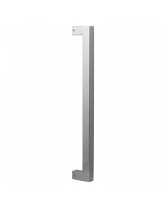 Vierkante deurgreep - RVS geborsteld - 300 en 500 mm hoog