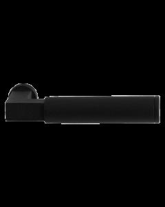 Set deurkrukken KURI- zwart RVS - L-haaks