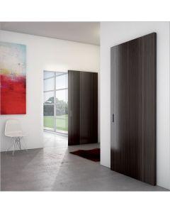 Onzichtbaar schuifdeursysteem voor houten schuifdeuren   ironw@re
