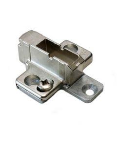Kruismontageplaat - 9 mm - montage met schroef dikte 3,5 mm - product - 175H7190