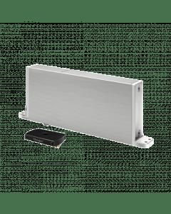 Frits Jurgens taatscharnier systeem M - Rechte vloerplaat - Zwart (taatsscharnier)