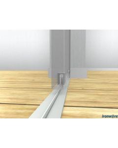 Complete set onderlopend schuifdeur systeem 318/P - tot 160 Kg deurgewicht