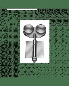 ROB hangrol met dubbel scharnier 130.000 serie
