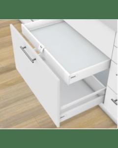 Blum Antaro Blumotion - Binnenlade M - hoogte 83mm - 65kg - Zijdewit