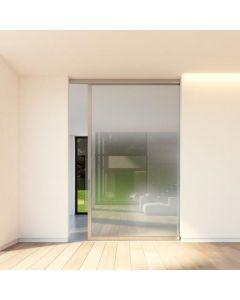 Schuifdeur systeem Slideways 6530 dhz bouwpakket voor stalen schuifdeur met glas - frame rondom - deuren B600 t/m 1475 x H1800 t/m 2950 mm