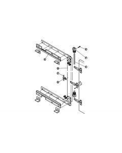 Synchroonset voor lineaire geleider 550 mm