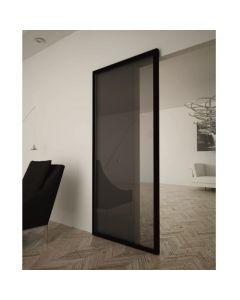 Onzichtbaar schuifdeursysteem - max. 1100 x 2200 mm - max. 80 kg - zwart - toepassing - 1500.1100.2200.25