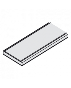Onderrail zachte ondergrond systeem 1400 Aluminium - zilverkleurig - 2200 mm lang