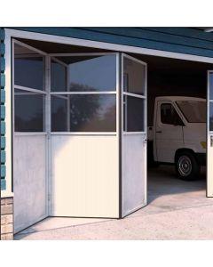 Voorbeeldset - Vouwdeursysteem buitendeuren - ROB 120.000 - 3 panelen - max 35kg per paneel