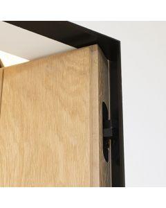 Xinnix X240 maatwerk kozijnset zwart | deurhoogte max 2100mm