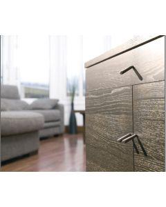 Didheya Switch meubelknop z454 nikkel mat