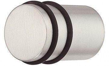 RVS mat ronde meubelknop (15x30 en 20x30 mm)
