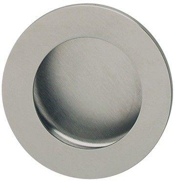 rvs mat cirkelvormig komgreep diameter 50, 60 en 80 mm bevestigingsmateriaal inbegrepen
