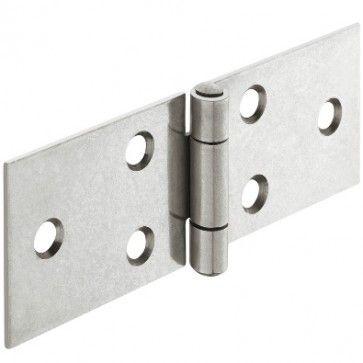 Bladscharnier staal verzinkt - 50x23 mm - geklonken stift - productafbeelding - 354.31.913