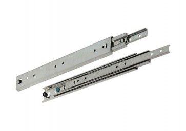 Ladegeleider - kogelgelagerd - Inbouwlengte 300 - 1.100 mm - volledig uittrekbaar - Max 150 Kg - Staal verzinkt