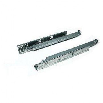 Blum Tandem Plus 566H.C Selfclose (zelfsluitend zonder demping) ladegeleider - kogelgelagerd - inbouwlengte 450 mm - volledig uittrekbaar - max 50 Kg - staal verzinkt
