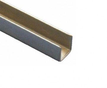 Geleide rail L=600 cm (voor serie 2) Voor montage aan deur of vloer