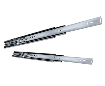 Softclose ladegeleider - inbouwlengte 450 mm - volledig uittrekbaar -  max 45 Kg - staal verzinkt