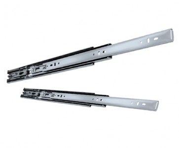 Softclose ladegeleider - inbouwlengte 550 mm - volledig uittrekbaar -  max 45 Kg - staal verzinkt