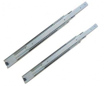 Ladegeleider - Inbouwlengte 850 mm - volledig uittrekbaar - Max 90 Kg - Staal verzinkt
