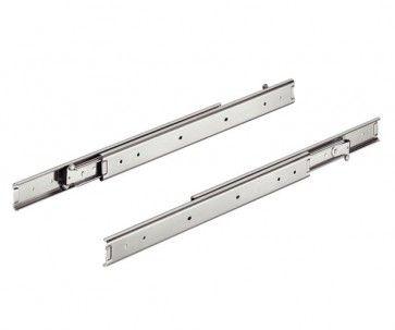 2 zijden uittrekbare ladegeleider - inbouwlengte 600 mm - maximaal belastbaar tot 45kg